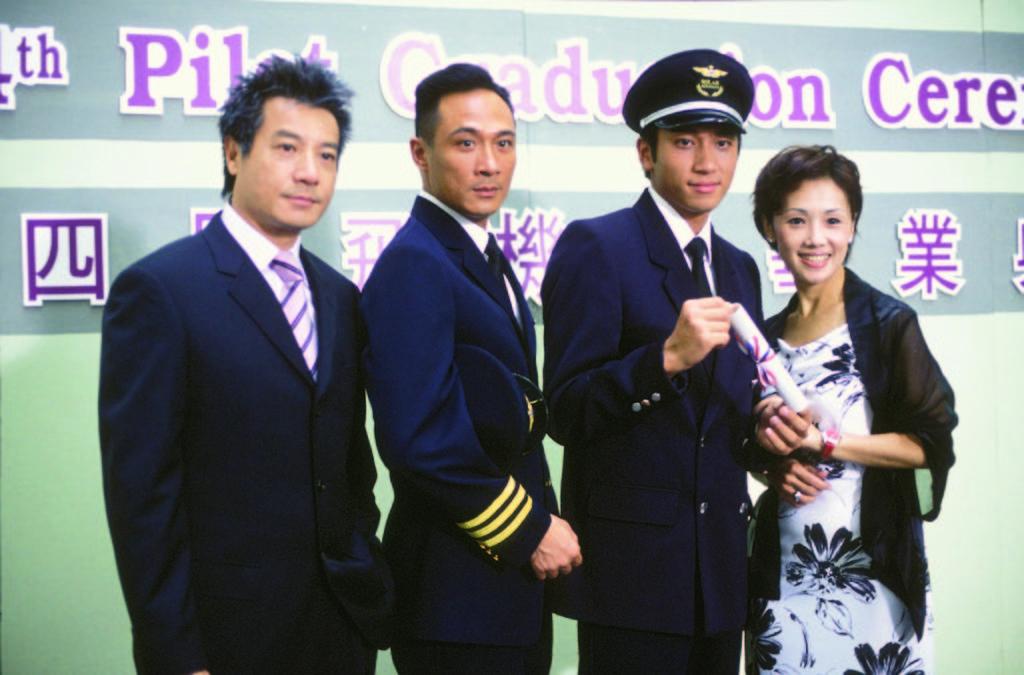 吳卓羲在《衝上雲霄》演新紮機師走紅,亦有劇中兄長Sam哥吳鎮宇。