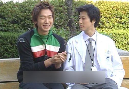 Rain和李東健十五年前合作《尚道呀,上學去》還是青澀的小生,現在他們已經踏進人生不同的階段。