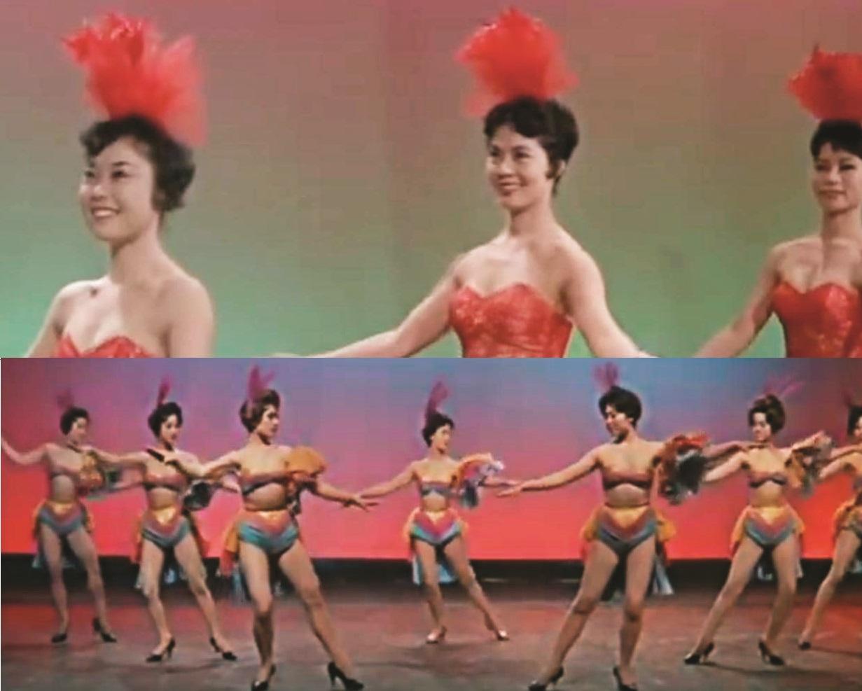 《千嬌百媚》這段放在片頭的雜錦旅遊到底美中不足,因為它只有舞沒有歌。