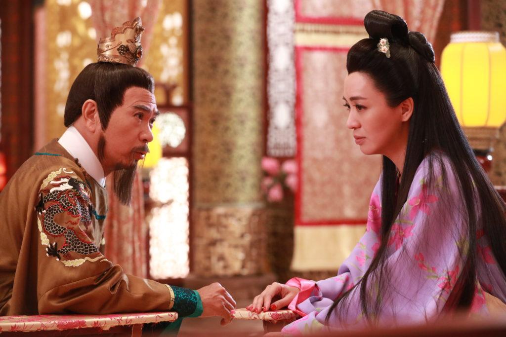 李龍基在《深宮計》與太平公主(陳煒)是皇兄皇妹,兩人陰謀多多。