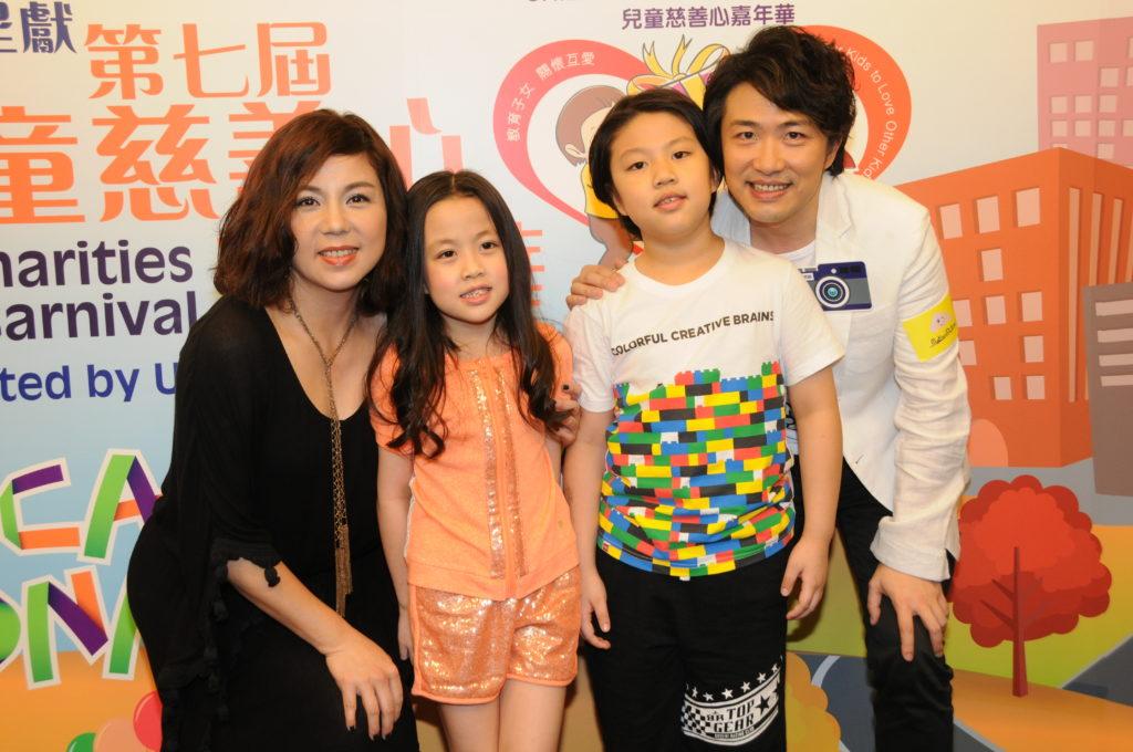 經歷過失去長子後,劉美娟、張崇德育有兒子日希和女兒日晴。