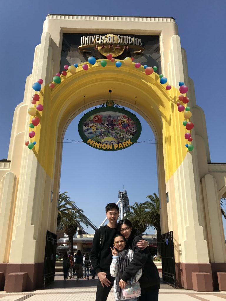 傅楚惠指父親是遊戲組組長,不過父親也要求「專心食飯」。