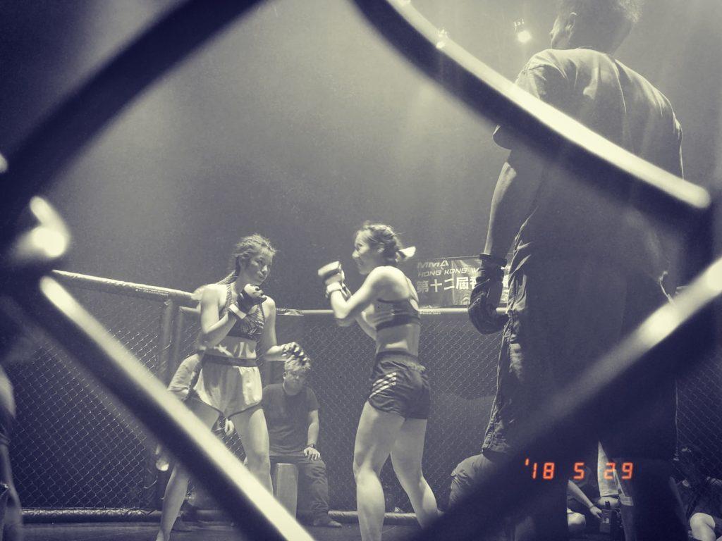 在新片《擊鬥女神》,Wiyona更要落場真打MMA(綜合格鬥),真正拳拳到肉。
