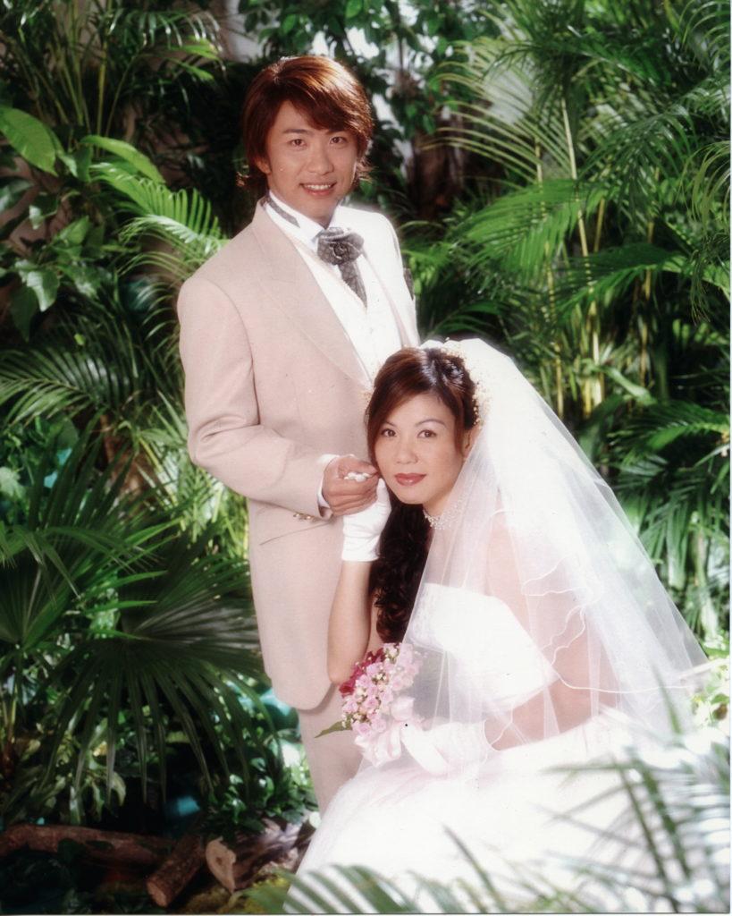 劉美娟與張崇德2001年閃電結婚