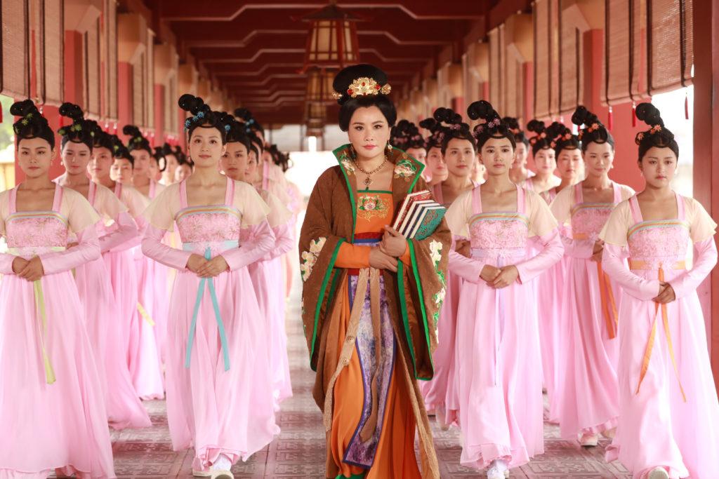 張文慈首次拍攝古裝劇,在《深宮計》飾演貪小便宜的汪司膳,劇中有不少發揮機會。