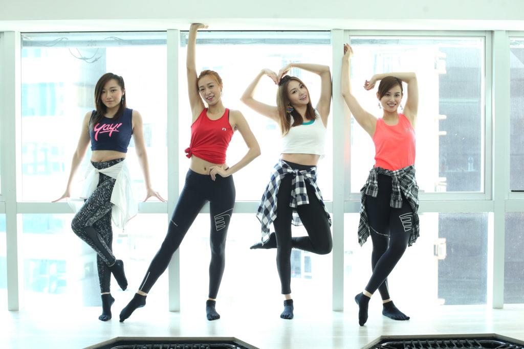 跳唱組合BINGO一六年加入樂壇,左起為Christy、Odilia、Carman及Kylie。
