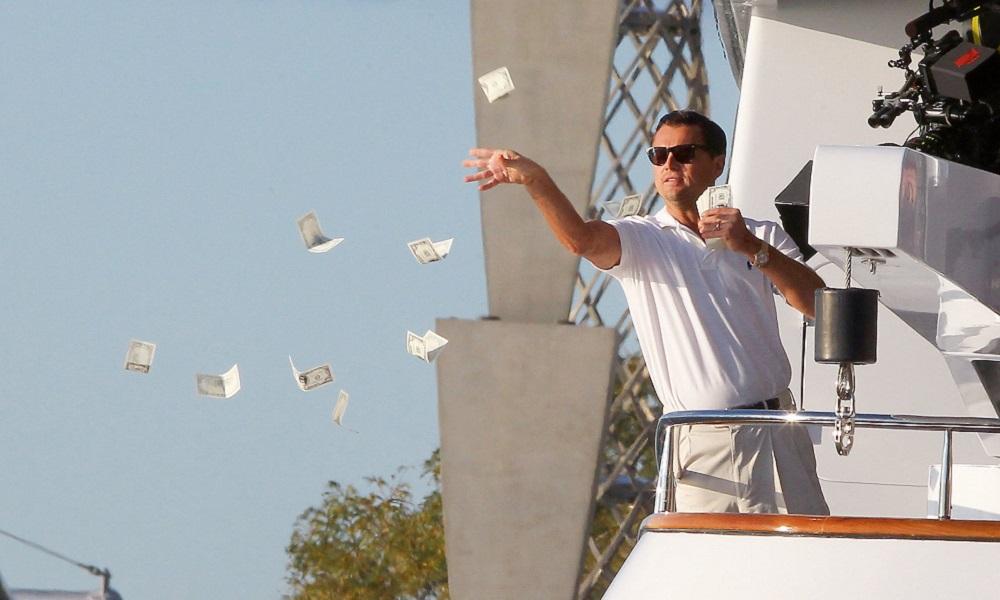 o-lobo-de-wall-street-dinheiro