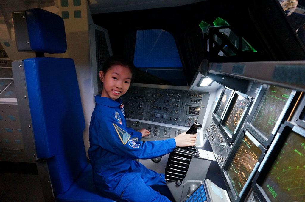 Chloe去年成功入選小太空人計劃