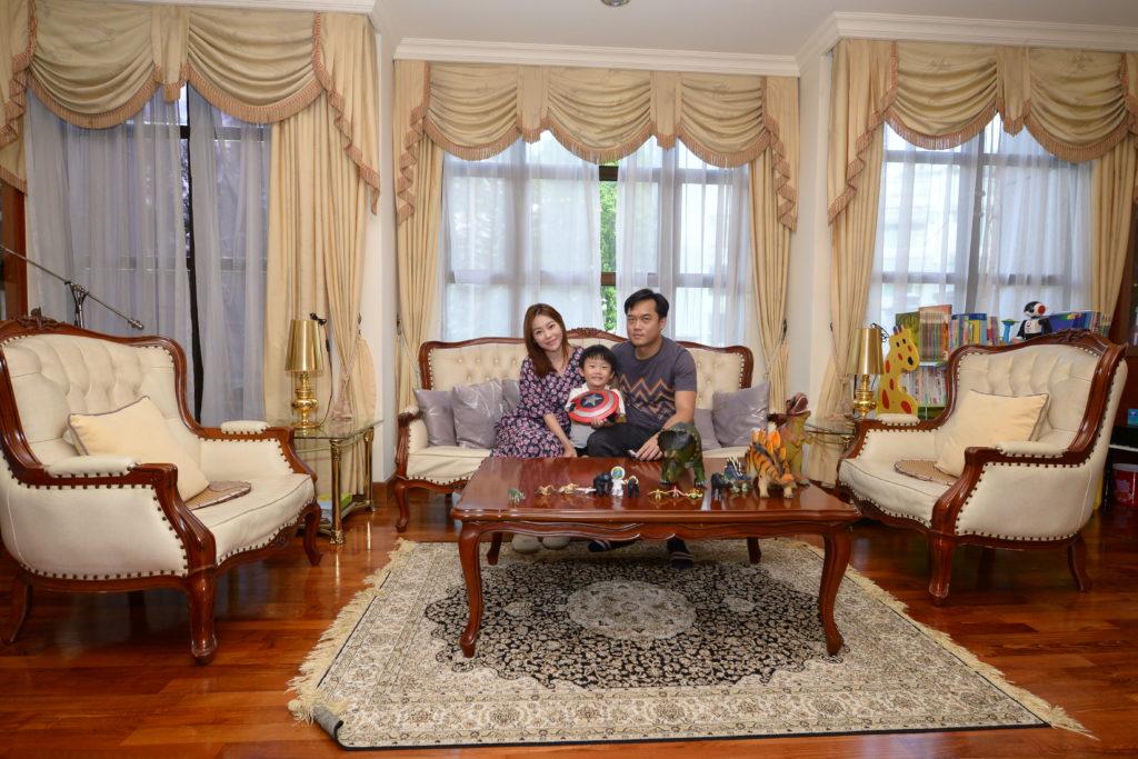 張韋怡和老公Michael、囝囝Ashton一家三口好幸福