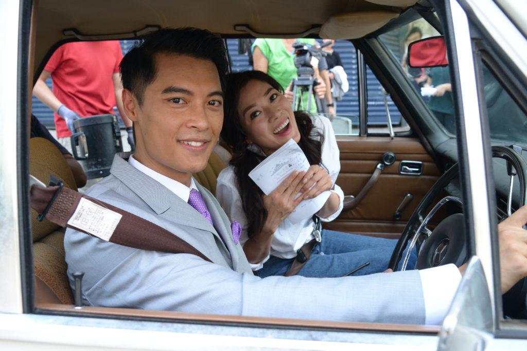 林淑敏與黎振燁在《愛.回家》中再度合作,有一定默契。