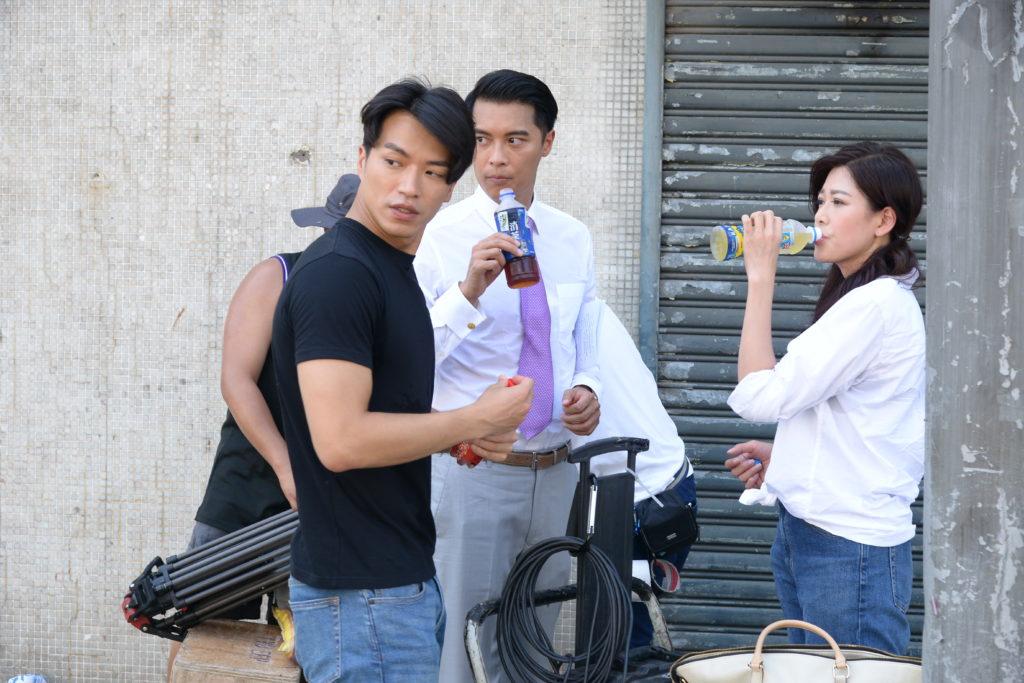 林淑敏、黎振燁及許家傑在處境劇中將會成為三角關係。