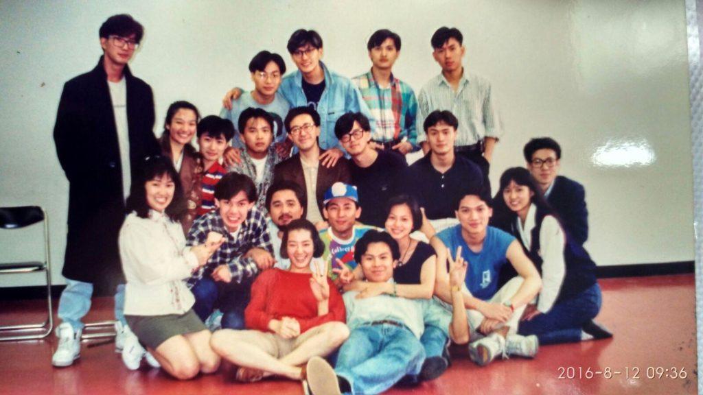 這張演藝學院學生合照相當珍貴,看見不少熟悉面孔,梁思浩、古明華、陳錦鴻、劉玉翠和關寶慧等。