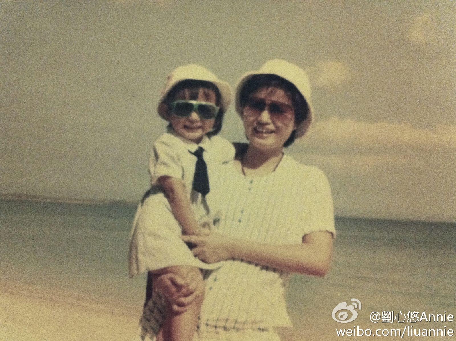單親家庭長大的劉心悠,對母親相當孝順。