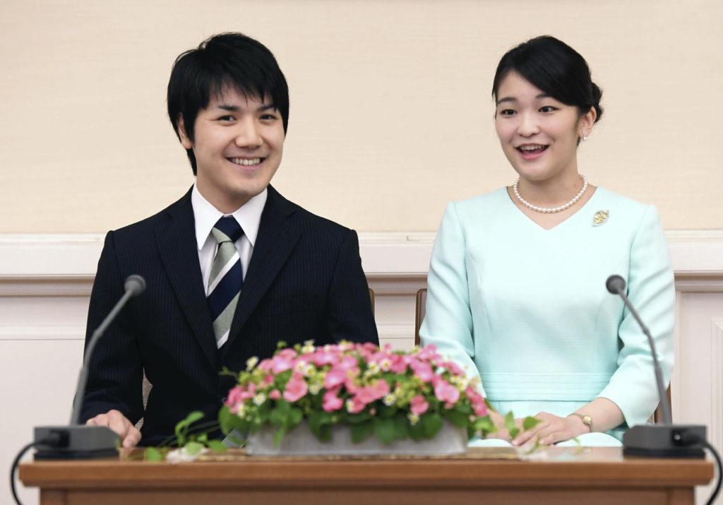 真子公主去年與小室圭公布訂婚