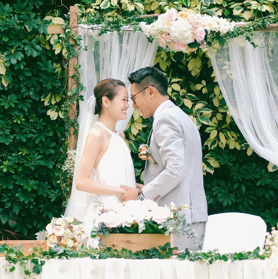 陸駿光與太太Sherraine結婚近三年,他感謝太太一直支持他追求演藝夢。