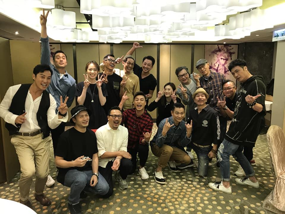 陸駿光有份參演劉德華監製的網劇《東方華爾街》,劇集大獲好評,早前台前幕後人員更一起出席慶功宴。