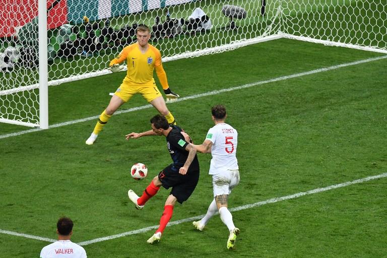 加時下半場,文迪蘇傑在禁區左腳抽射,助克羅地亞反勝英格蘭2:1。