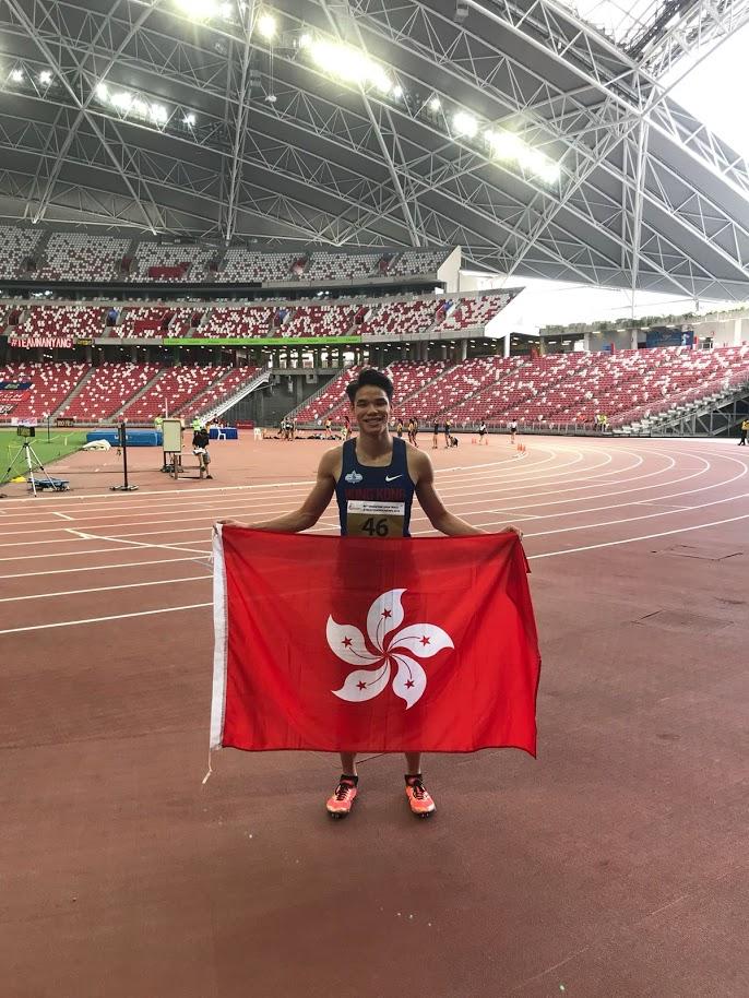 陳仲泓代表香港出戰亞運