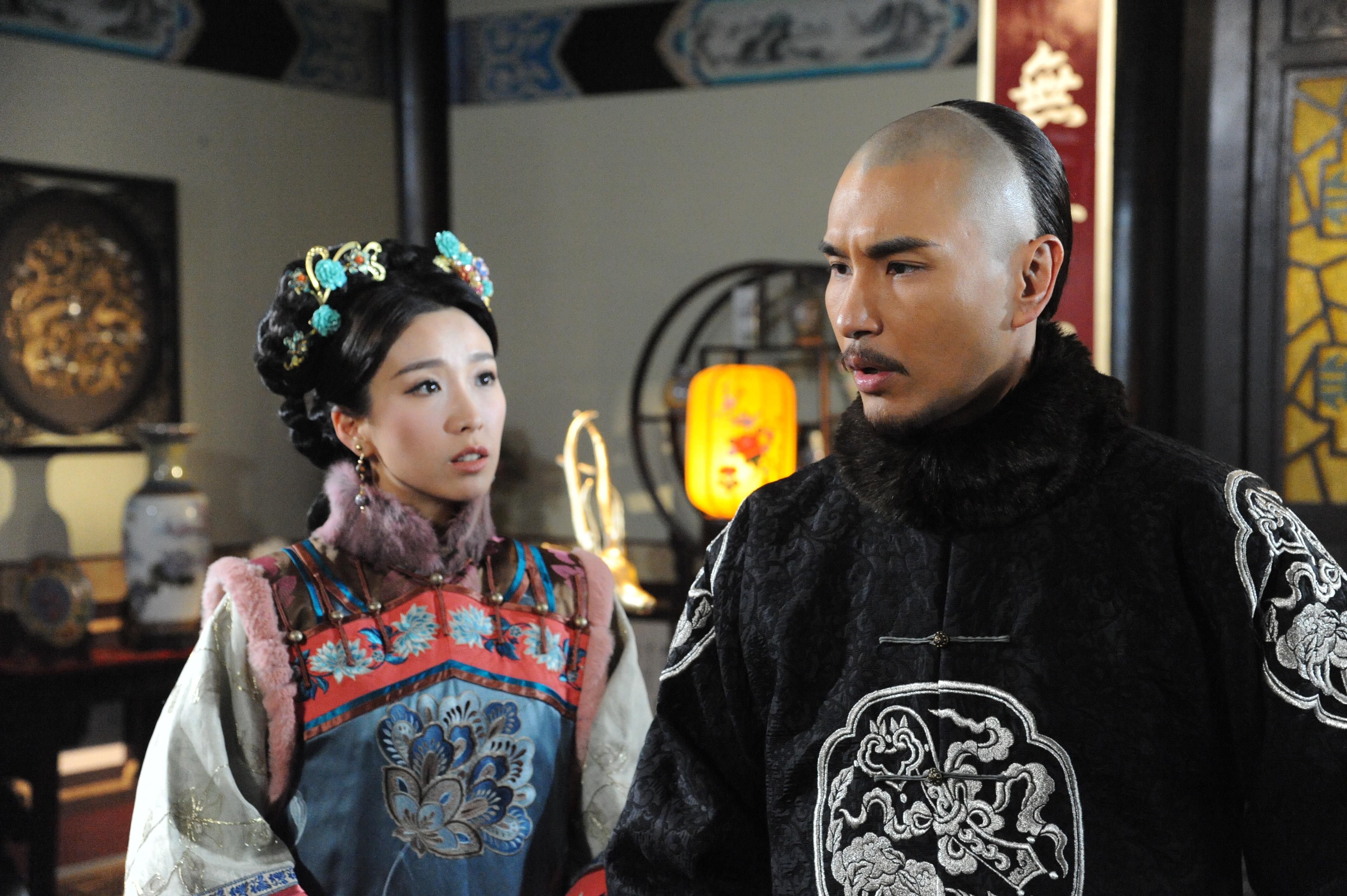 劇集《天命》中姚子羚飾演陳展鵬的二太太,兩人有不少感情戲。