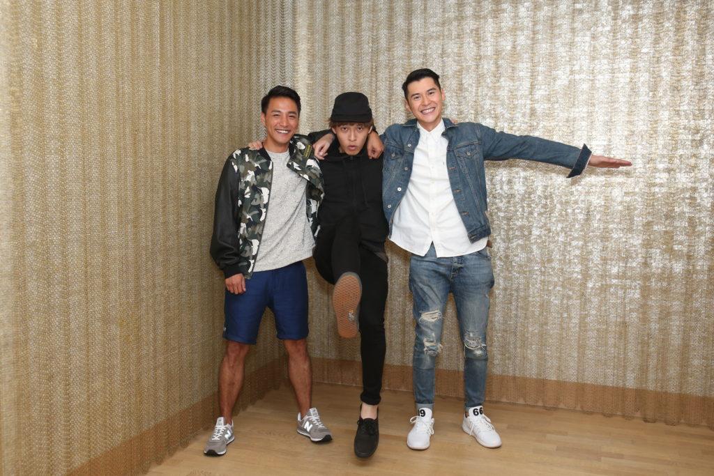 林耀聲、吳鶴謙和陳家樂在電影《兄弟班》分別飾演阿強、陳友和彭健新。