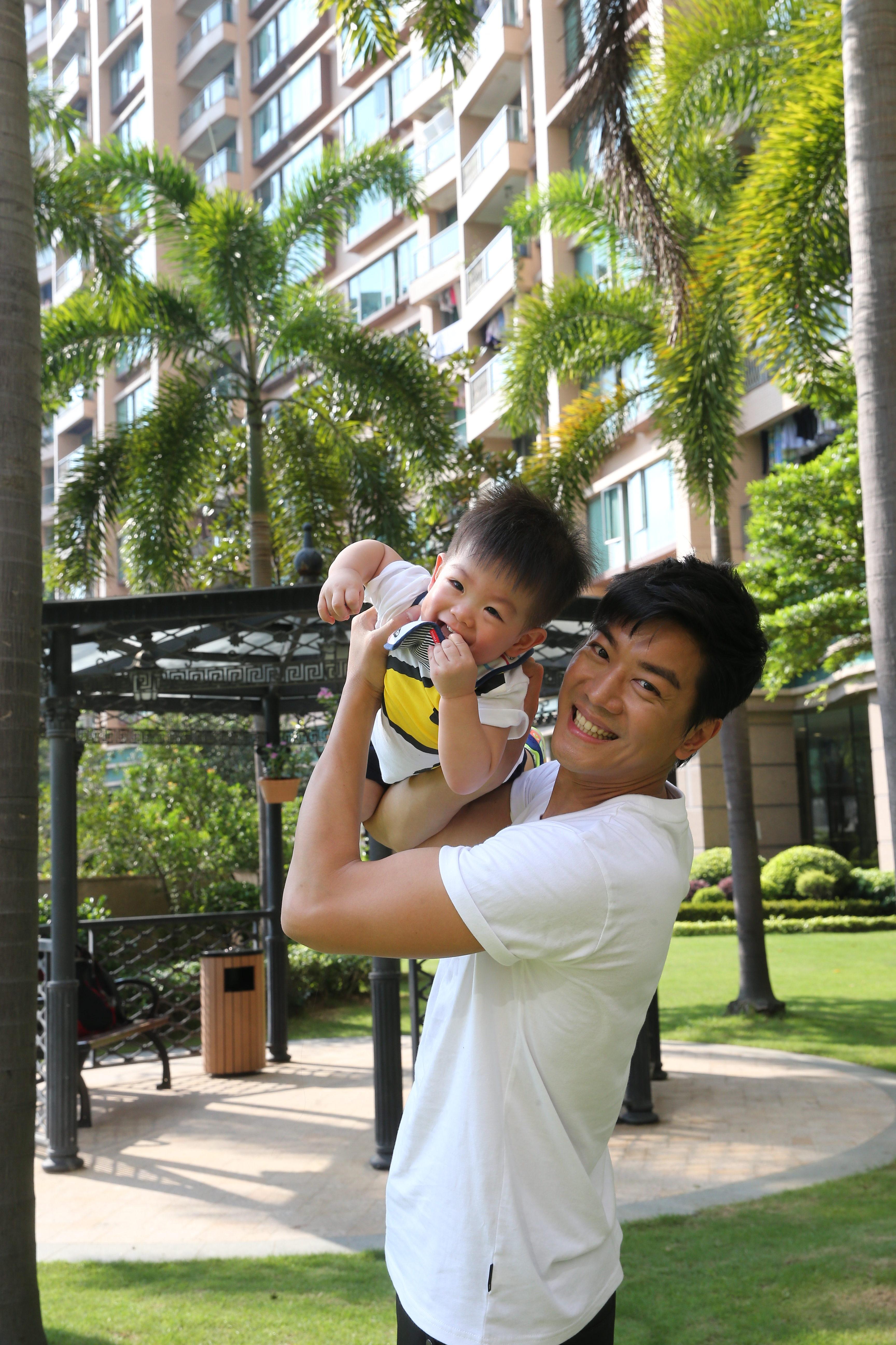 黎諾懿去年榮陞爸爸,經過這些日子的磨練,他自誇為熟手技工。