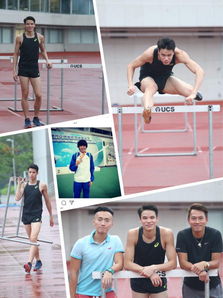 陳仲泓視教練陳沛、程俊熙為恩師,對兩人非常尊重及信服。