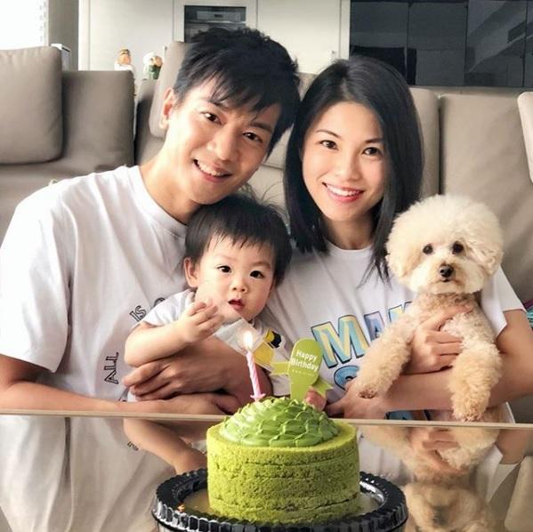 黎諾懿夫婦為小春雞慶祝生日,他們已有計劃,待兒子三歲時,為他添個弟弟或妹妹。