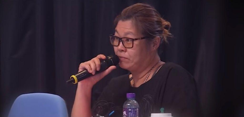 《全民造星》監製花姐在無綫擔任《勁歌》監製多年,跟Ellen一早已經認識,她說當晚Ellen還說要增肥。