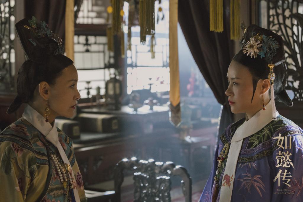 《如懿傳》陳沖演的舊皇后和鄔君梅演的年長貴妃冷語互鬥,電視迷讚這場對手戲夠味道。