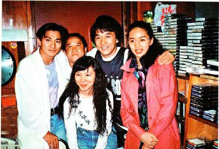 海琪的電台節目請過梅艷芳、成龍、曾志偉、劉德華等做嘉賓