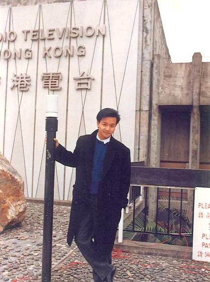 張國榮愛到香港電台流連找人聊天