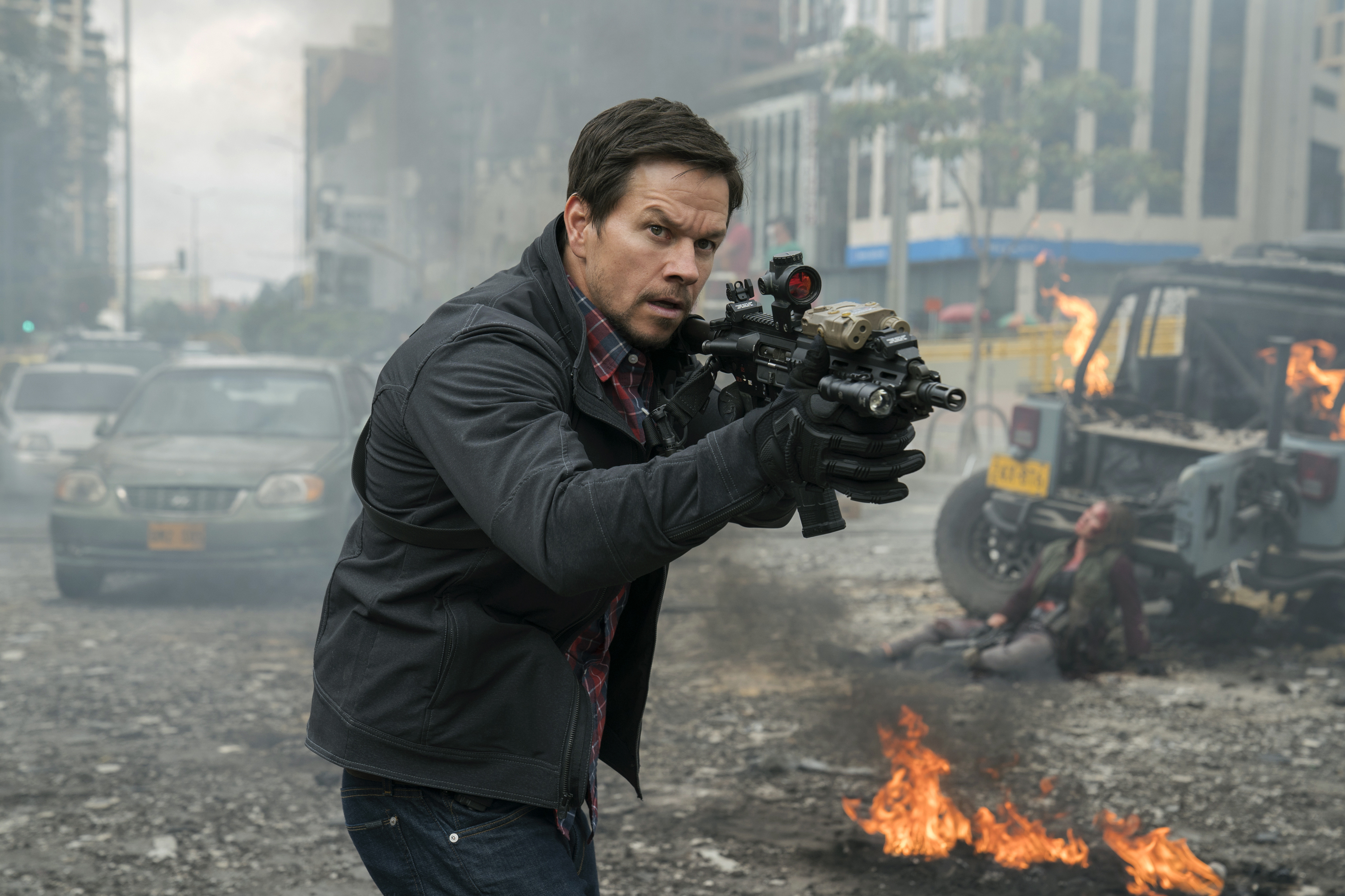 Mark Wahlberg stars as Ground Branch officer Jimmy Silva in MILE 22