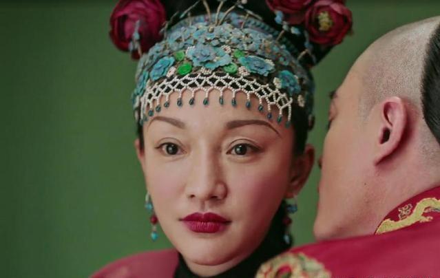 《如懿傳》一場出嫁戲,周迅的新娘妝被指太濃又像媒婆。