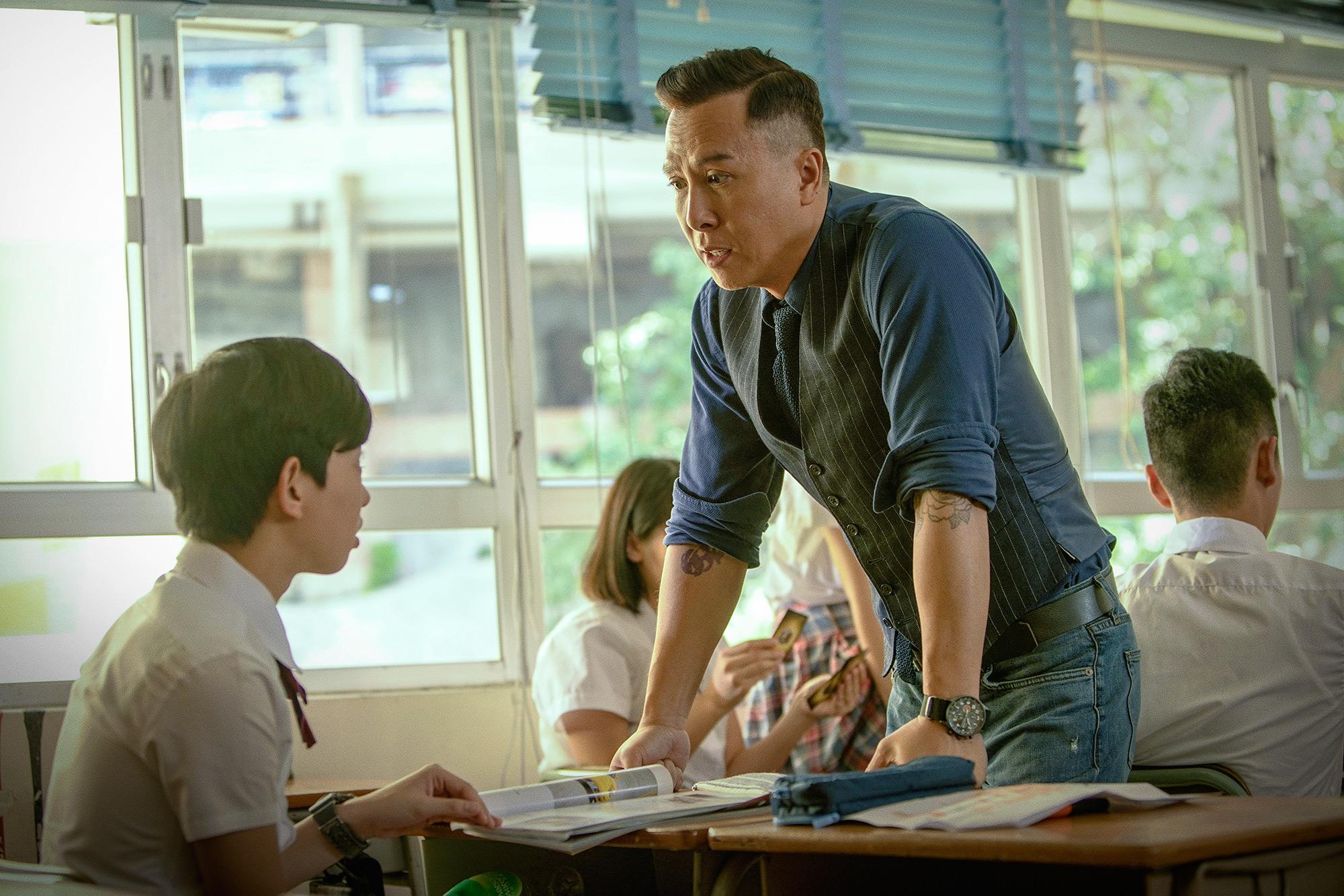 拍攝教育片是子丹的夢想,他希望可以令大家關注學生和教育問題。