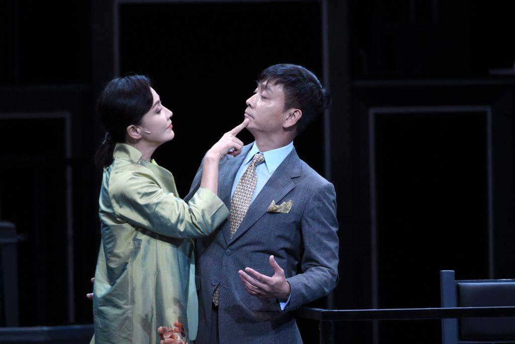 舞台劇《杜老誌》後,劉嘉玲跟謝君豪再合作,二人擦出火花。
