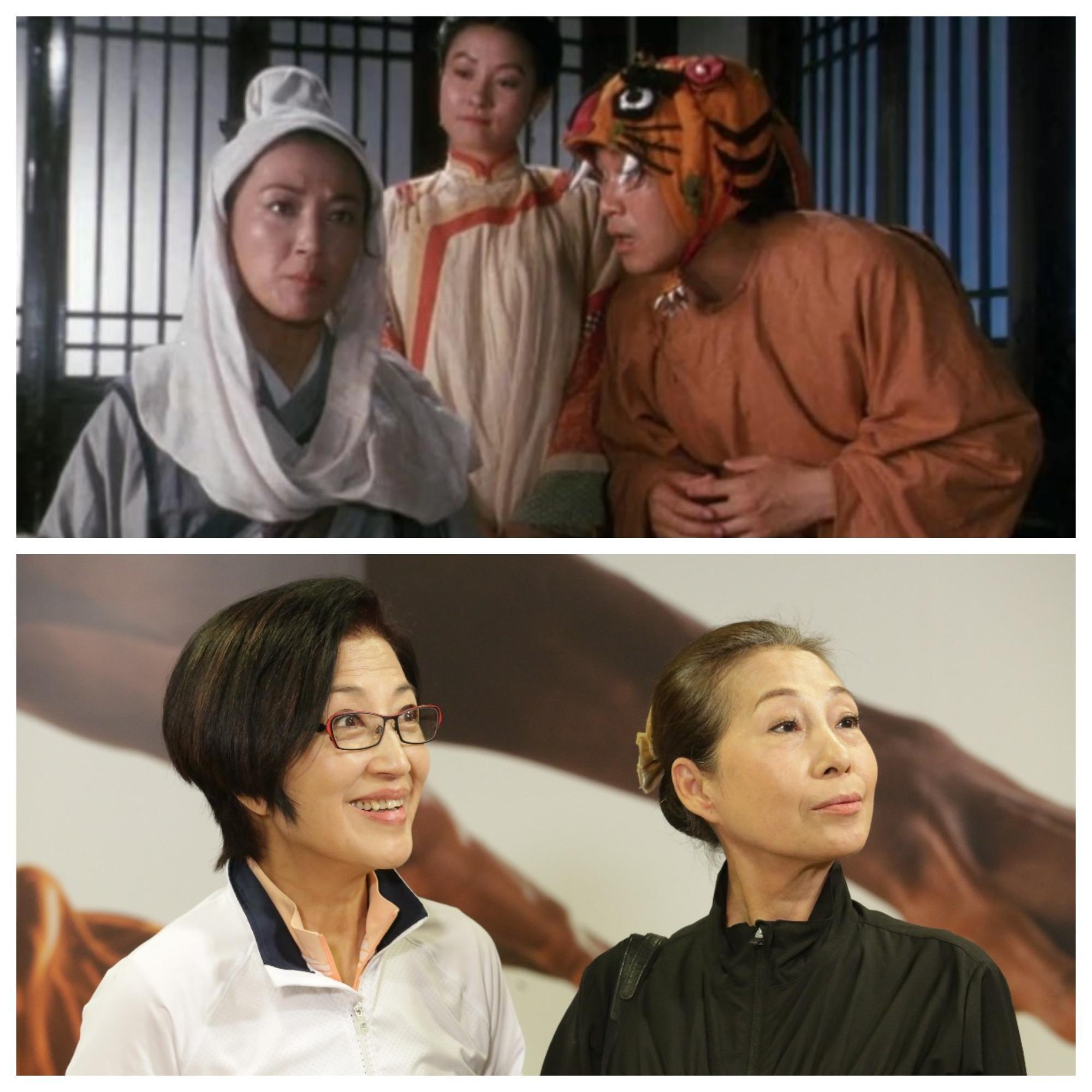 九二年於電影《鹿鼎記2神龍教》飾演獨臂神尼(上)。而劇集《愛‧回家》中演「Helen姐」,令觀眾對她刮目相看()下。