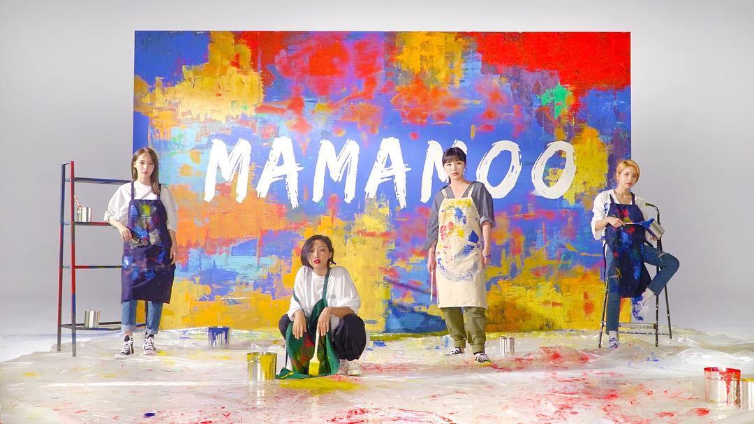 MAMAMOO即將進軍日本市場,四位成員都感到很興奮很高興。