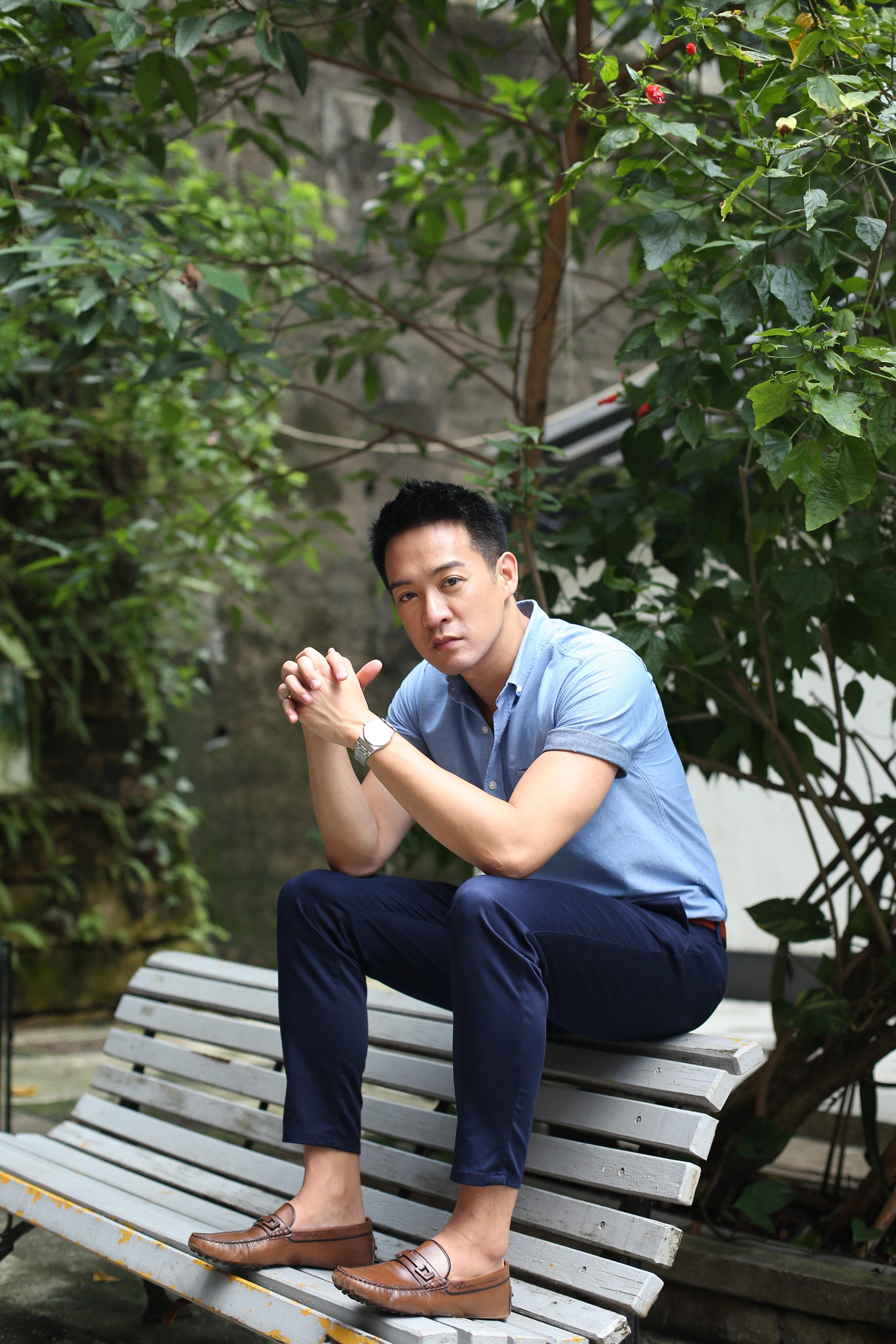 離開無綫向外闖的陳智燊,希望可以嘗試不同範疇的工作,令自己演藝事業更上層樓。