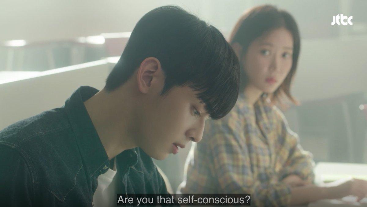 跟姜美萊高中同校的都慶錫,擁有王子般的外表和冷漠的性格,一舉一動都像在拍海報。