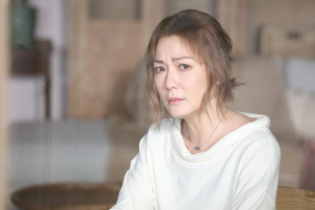 劇情描述夫妻吵鬧冷戰,阿田拍哭戲一take過,完全沒難度。
