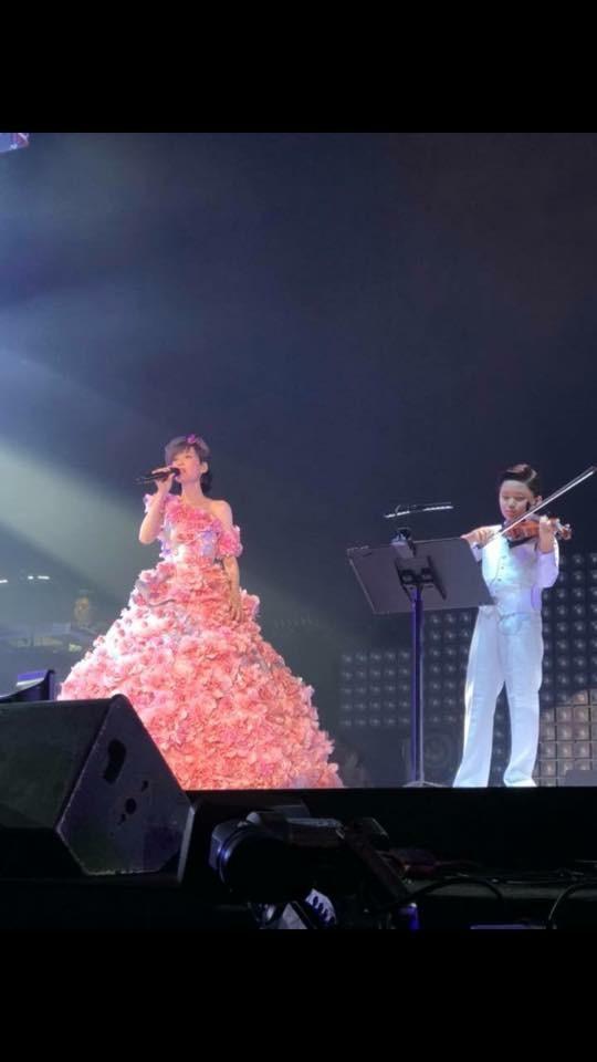 Yuji早前獲邀在周慧敏演唱會獨奏,那次演出,他的自信心增強了。