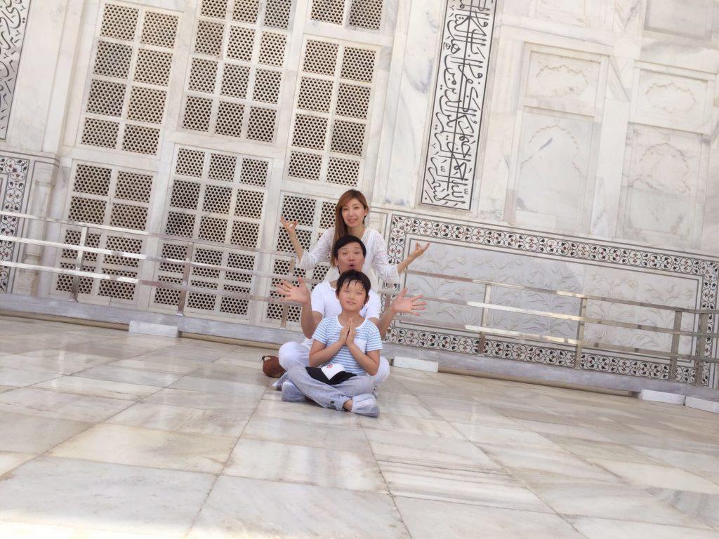 他們很喜歡到印度旅行,Harry很珍惜跟兒子相處日子,因為小朋友實在大得太快。