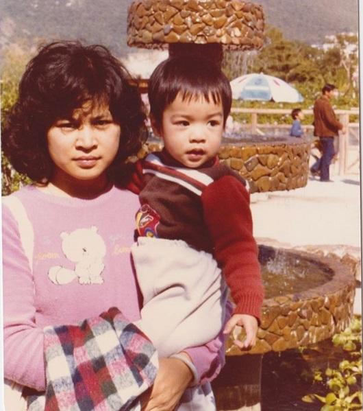 陳智燊十分敬佩媽咪的偉大,因她一人湊大四兄弟。