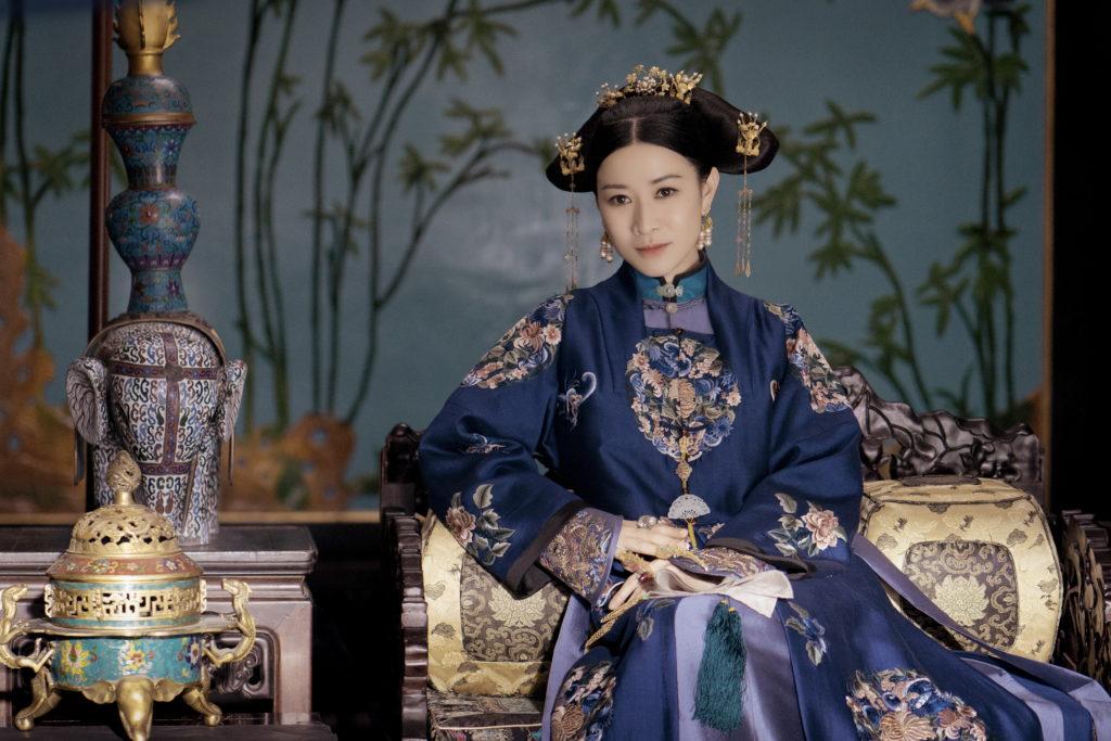 阿佘只用了兩天時間便看完七十集的劇本,她說一心就是演好嫻妃的角色。