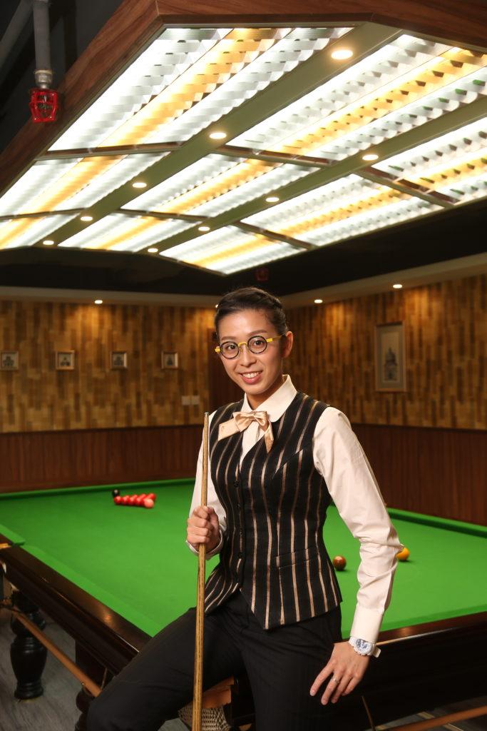 吳安儀曾經以為自己最大的成就是做桌球室主任