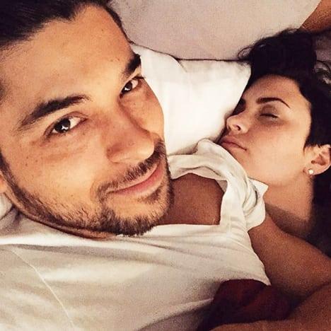 Demi與Wilmer拍拖六年一直表現恩愛,可惜16年因了解而分開