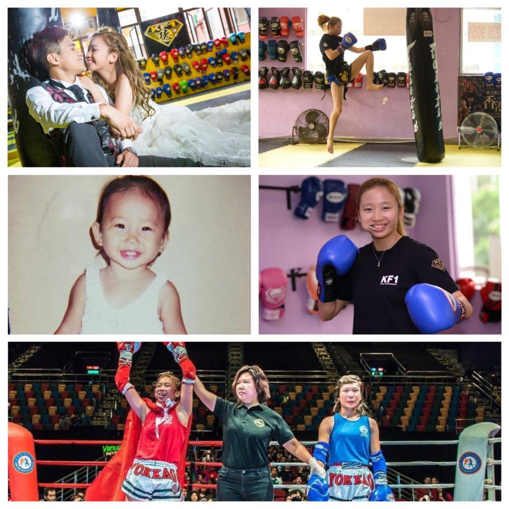 胡凱欣有讀寫障礙,十四歲開始學打拳找到人生目標。