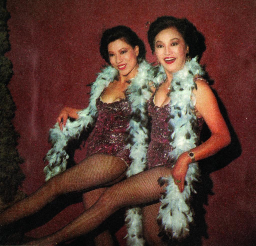加入無綫後,羅蘭與李香琴為台慶表演性感舞。