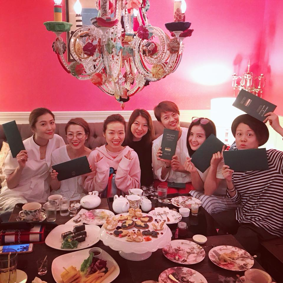 阿芝的最強姊妹團包括Sammi、梁詠琪和阿Sa,本周六將會齊齊出動。