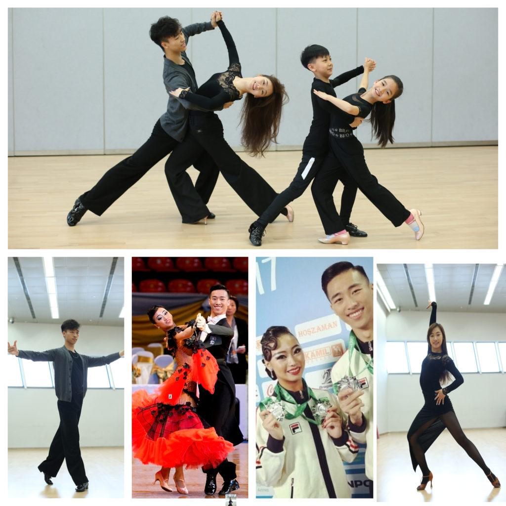 兩兄妹也是舞蹈老師,很多小朋友慕名拜在門下接受訓練